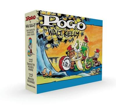 Pogo Vol. 1 & 2 Box Set - Kelly, Walt, and Breslin, Jimmy (Foreword by), and Freberg, Stan (Foreword by)
