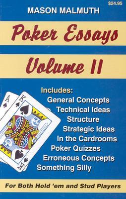 Poker Essays - Malmuth, Mason