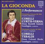 Ponchielli: La Gioconda - 2 Performances