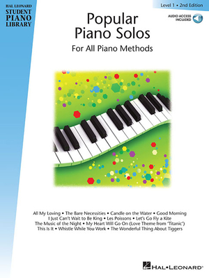 Popular Piano Solos - Level 1: Hal Leonard Student Piano Library Book with Enchanced CD - Keveren, Phillip