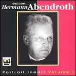 Portrait de Hermann Abendroth, Vol. 1