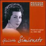 Portrait of a Legend: Giulietta Simionato