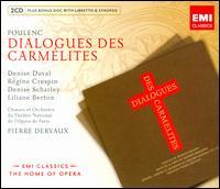 Poulenc: Dialogues des Carmélites - Charles Paul (vocals); Denise Duval (vocals); Denise Scharley (vocals); Gisele Desmoutiers (vocals); Jacques Mars (vocals);...