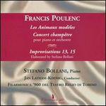 Poulenc: Les Animaux modèles; Concert champêtre; Improvisations 13 & 15