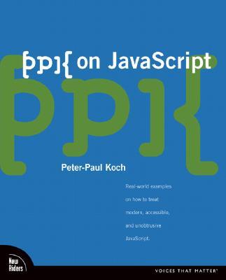 ppk on JavaScript - Koch, Peter-Paul