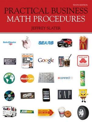 Practical Business Math Procedures with Business Math Handbook, Student DVD, Wsj Insert - Slater, Jeffrey