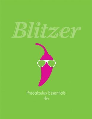 Precalculus Essentials - Blitzer, Robert F.