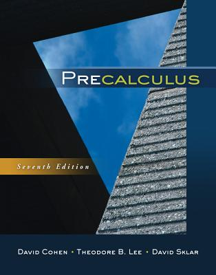 Precalculus book by David Cohen | 4 available editions | Alibris Books