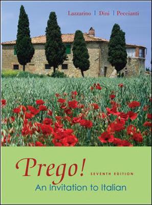 Prego!: An Invitation to Italian - Lazzarino, Graziana, and Dini, Andrea, and Peccianti, Maria Cristina