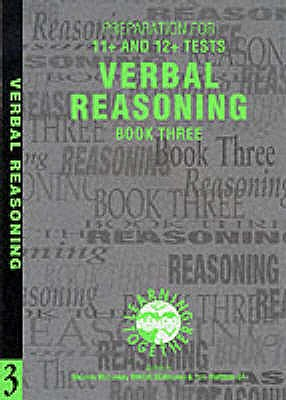 Preparation for 11+ and 12+ Tests: Verbal Reasoning Bk. 3 - McConkey, Stephen, and Maltman, Tom