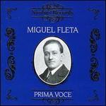 Prima Voce: Miguel Fleta