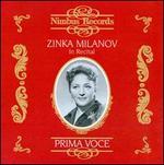 Prima Voce: Zinka milanov in Recital