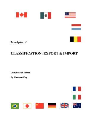 Principles of Classification: Export & Import - Key, Clement M