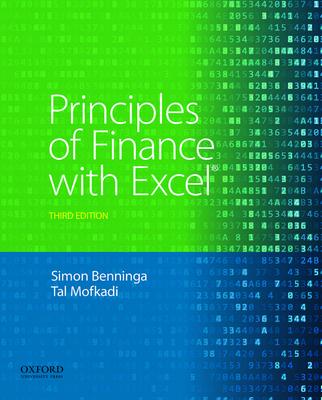 Principles of Finance with Excel - Benninga, Simon