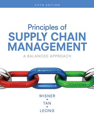 Principles of Supply Chain Management: A Balanced Approach - Wisner, Joel D, and Tan, Keah-Choon, and Leong, G Keong