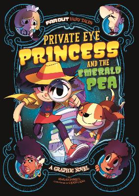 Private Eye Princess and the Emerald Pea: A Graphic Novel - Powell, Martin