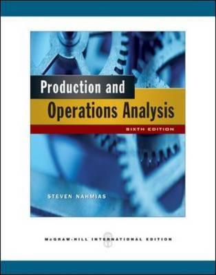steven nahmias production and operations analysis pdf download