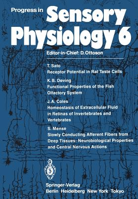 Progress in Sensory Physiology - Sato, T (Contributions by)
