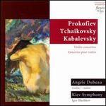Prokofiev, Tchaikovsky, Kabalevsky: Violin Concertos