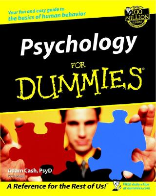 Psychology for Dummies. - Hungry Minds (Creator), and Cash, Adam, Psy