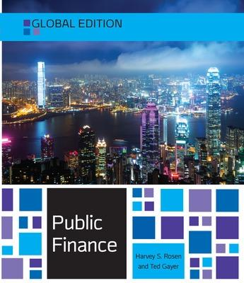 Public Finance - Rosen, Harvey S., and Gayer, Ted