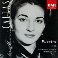 Puccini: Arias - Maria Callas (soprano); Philharmonia Orchestra; Tullio Serafin (conductor)
