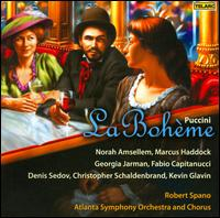 Puccini: La Bohème - Andrew Garland (baritone); Bradley Howard (tenor); Christopher Schaldenbrand (baritone); Denis Sedov (bass);...