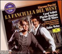 Puccini: La Fanciulla Del West - Anne Wilkens (mezzo-soprano); Carol Neblett (soprano); Eric Garrett (vocals); Francis Egerton (tenor); Gwynne Howell (bass);...