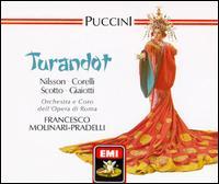 Puccini: Turandot - Angelo Mercuriali (tenor); Birgit Nilsson (soprano); Bonaldo Giaiotti (bass); Franco Corelli (tenor);...