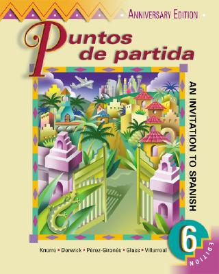 Puntos de Partida (Student Edition + Listening Comprehension Audiocassette) - Knorre, Marty, and Perez-Girones, Ana Maria, and Villarreal, Hildebrando