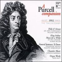 Purcell: A Purcell Companion - Agnès Mellon (soprano); Alfred Deller (tenor); Anne-Marie Lasla (bass viol); Antoine Sicot (bass); Barbara Borden (vocals);...
