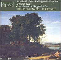 Purcell: From hardy climes and dangerous toils of war; Ye Tuneful Muses; Celestial music did the gods inspire - Charles Daniels (tenor); Charles Pott (bass); Gillian Fisher (soprano); James Bowman (counter tenor); Michael George (bass);...