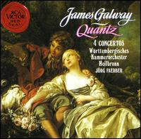 Quantz: 4 Concertos - James Galway (flute); Württemberg Chamber Orchestra; Jörg Faerber (conductor)