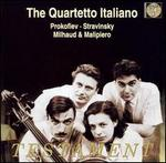 Quartetto Italiano Plays Prokofiev, Stravinsky, Milhaud & Malipiero