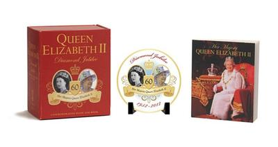 Queen Elizabeth II Diamond Jubilee Commemorative Plate and Book - De La Hoz, Cindy