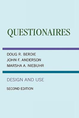 Questionnaires: Design and Use - Berdie, Douglas R