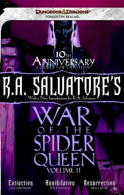 R.A. Salvatore's War of the Spider Queen, Volume II: Extinction, Annihilation, Resurrection - Smedman, Lisa, and Athans, Phillip, and Kemp, Paul S