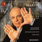 R. Strauss: Also sprach Zarathustra; Rosenkavalier Suite; Don Juan