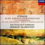 R. Strauss: Also sprach Zarathustra; Till Eulenspiegel; Tod und Verklärung