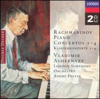 Rachmaninov: Piano Concertos Nos. 1 - 4 [1970-71 Recording] - Vladimir Ashkenazy (piano); London Symphony Orchestra; André Previn (conductor)