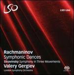 Rachmaninov: Symphonic Dances; Stravinsky: Symphony in Three Movements