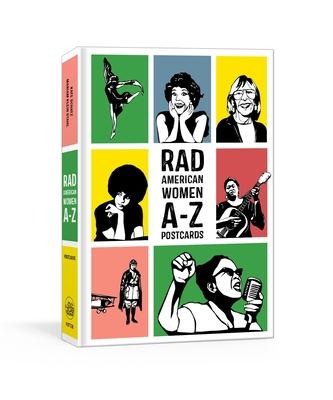 Rad American Women A-Z Postcards - Schatz, Kate