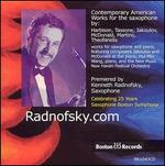 Radnofsky.com: Contemporary American Works for the Saxophone