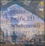 Ravel: Boléro; Honegger: Pacific 231; Rimsky-Korsakov: Scheherazade