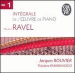 Ravel: Intégrale de l'oeuvre de piano [37 Tracks]