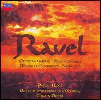 Ravel: Orchestral Works; Piano Concertos; L'Enfant et les Sortilèges; Shéhérazade - Catherine Dubosc (soprano); Claudine Carlson (vocals); Colette Alliot-Lugaz (soprano); Didier Henry (vocals);...