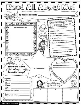 Read All about Me Posters: 30 Big Write-And-Read Learning Posters Ready for Kids to Personalize and Display with Pride! - Scholastic Books
