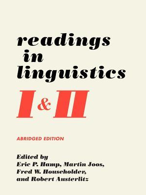 Readings in Linguistics I & II - Hamp, Eric P (Editor)