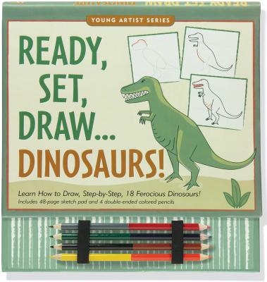 Ready, Set, Draw Dinosaurs! - Peter Pauper Press (Creator)