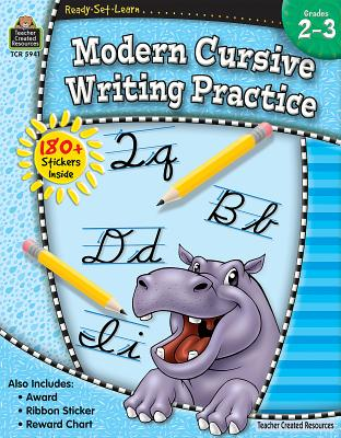 Ready-Set-Learn: Modern Cursive Writing Practice Grd 2-3 - Teacher Created Resources